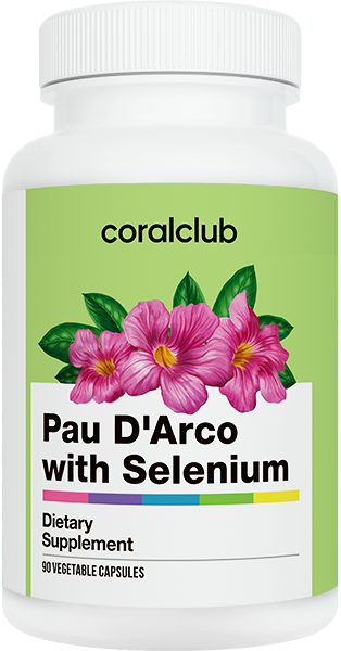 Pau D'Arco con Selenium