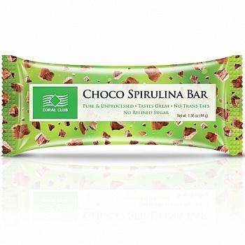 CHOCO SPIRULINA BAR