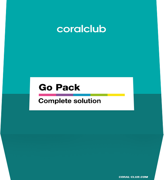 Go Pack Healthy Start Coral Club