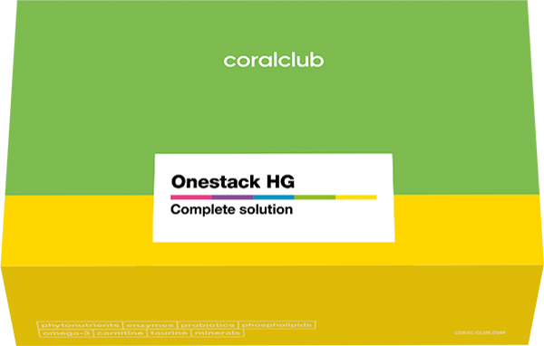 Onestack Healthy Gut Coral Club