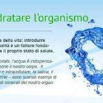 PASSO n°1: Idratare l'Organismo