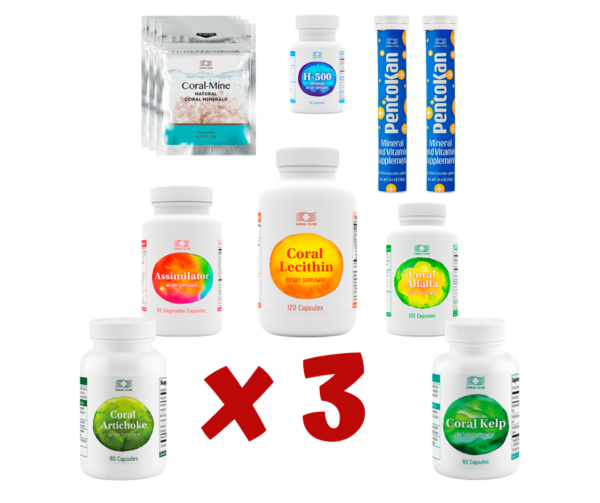 Cortisone Detox Plus 3